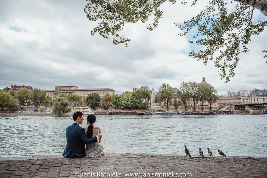 Seine prewedding