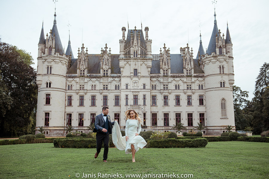 chateau wedding in french
