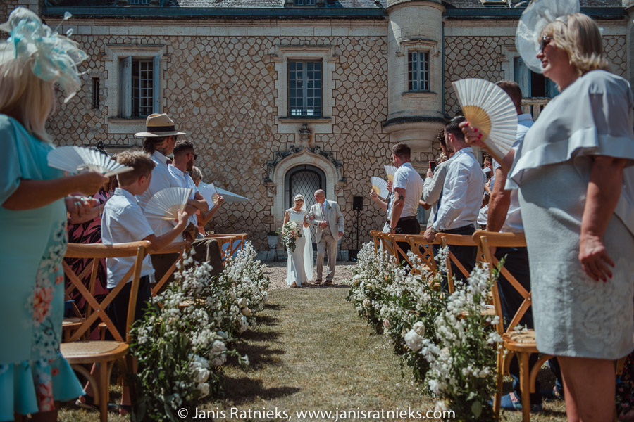 chateau wedding on france