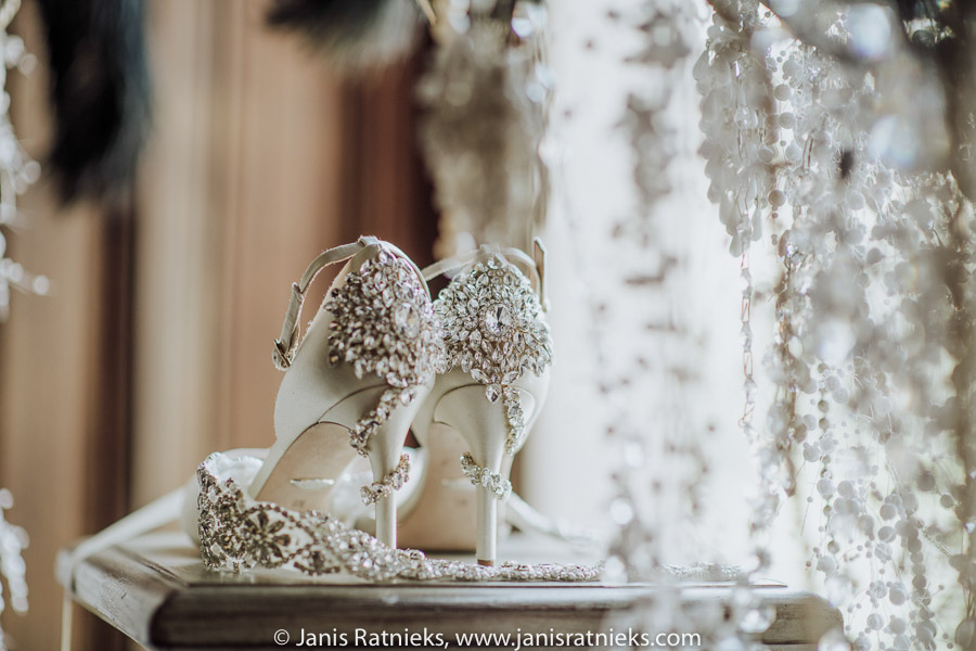 how to shoot wedding shoes