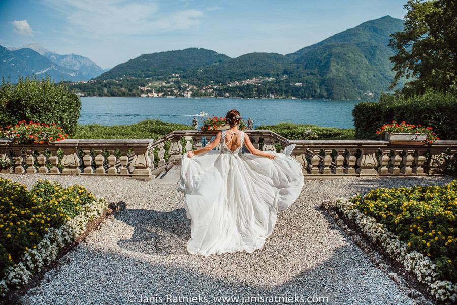 lace como bride
