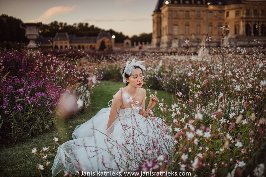vaux le vicomte prewedding photos