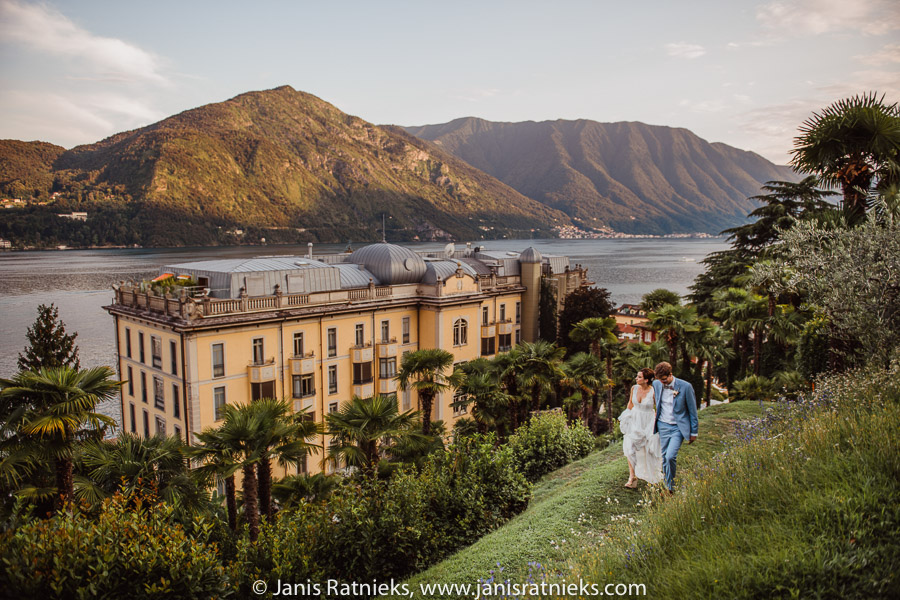 Wedding venue Como Grand Hotel Tremezzo