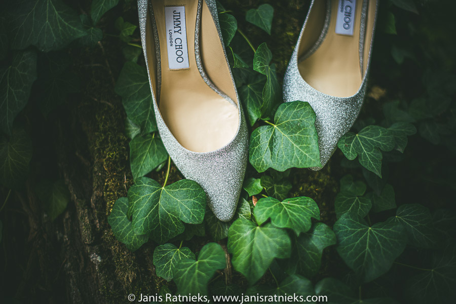 wedding shoes green
