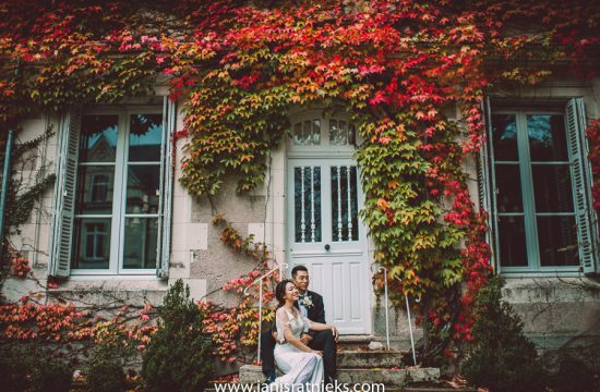 fall wedding in France