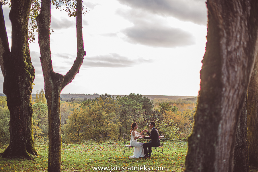 best autumn wedding france