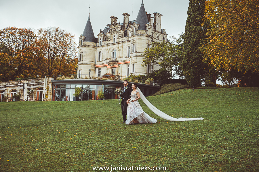 castle wedding france