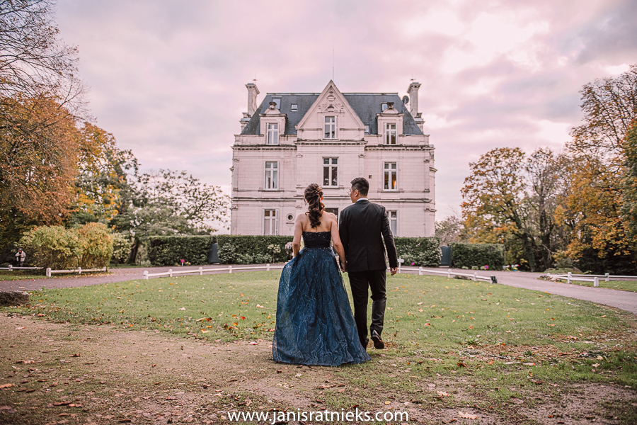 domain de la tortiniere wedding