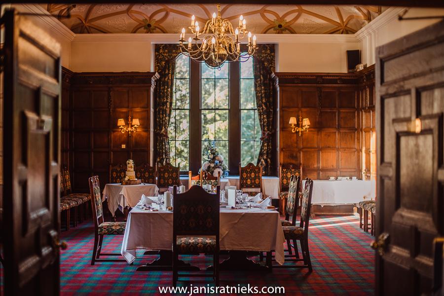 castle wedding in scotland