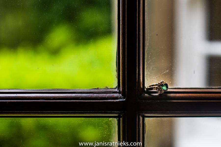 green scotland wedding ring