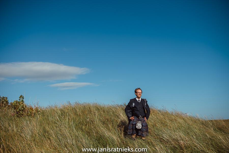 groom in scotland
