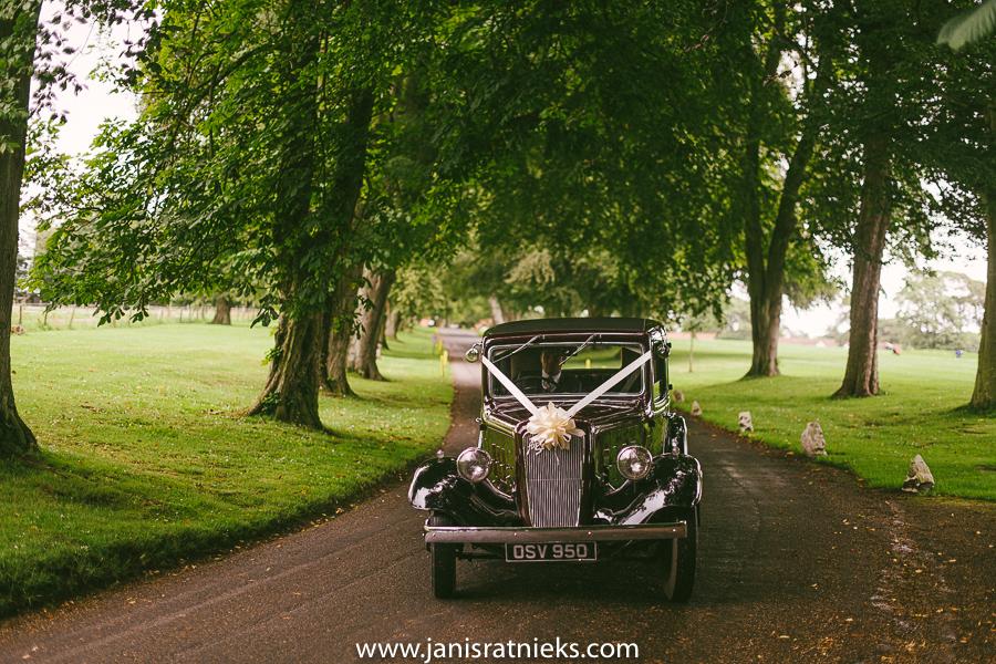 scotland wedding car