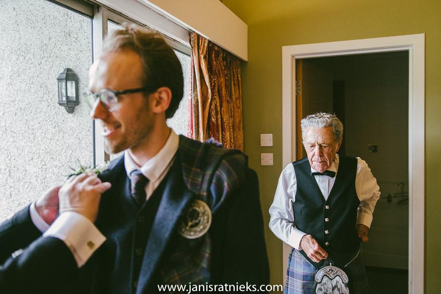 scotland wedding day