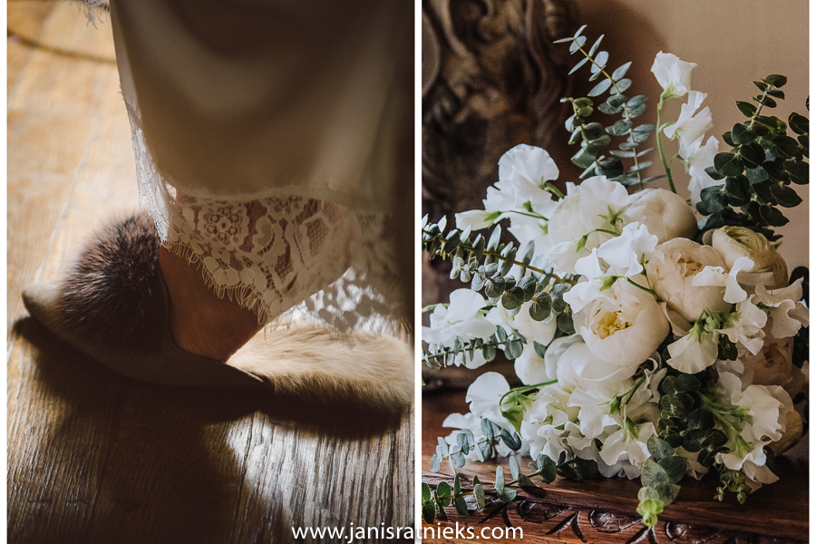spring elopement flowers