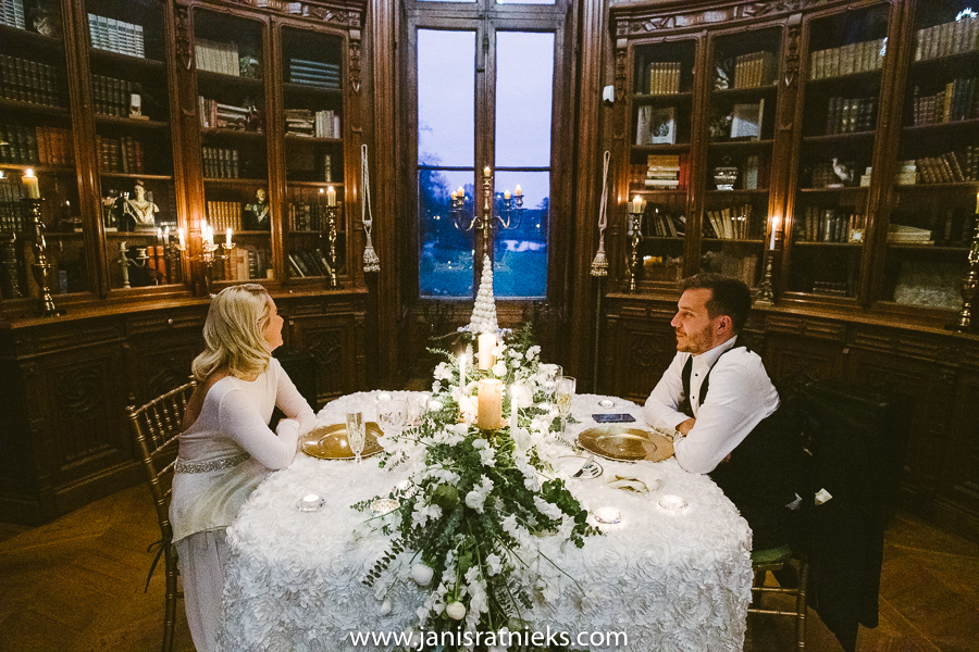 spring wedding meal