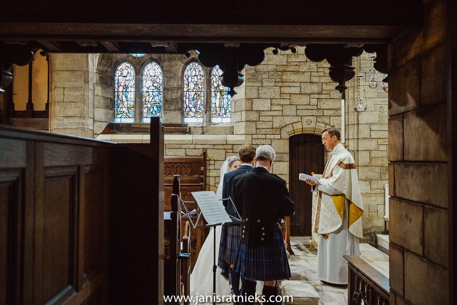 st andrews church wedding
