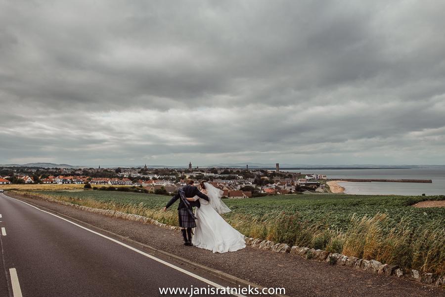 very Scottish wedding