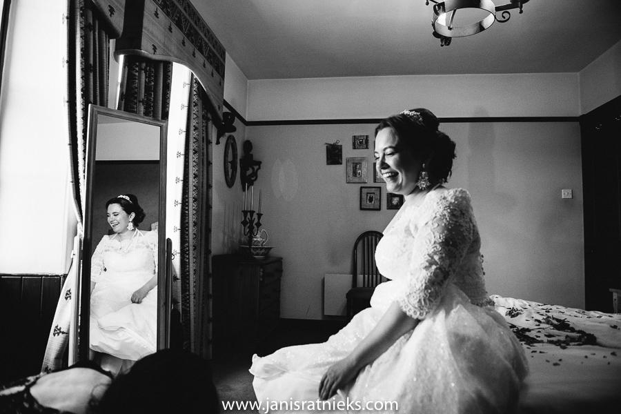 Scottish brides portrait