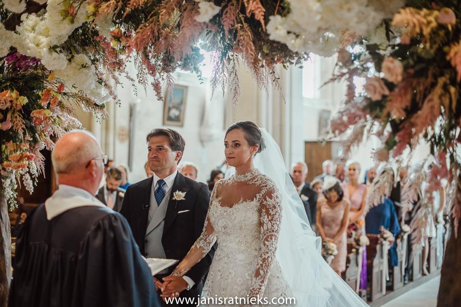 church wedding ceremony France