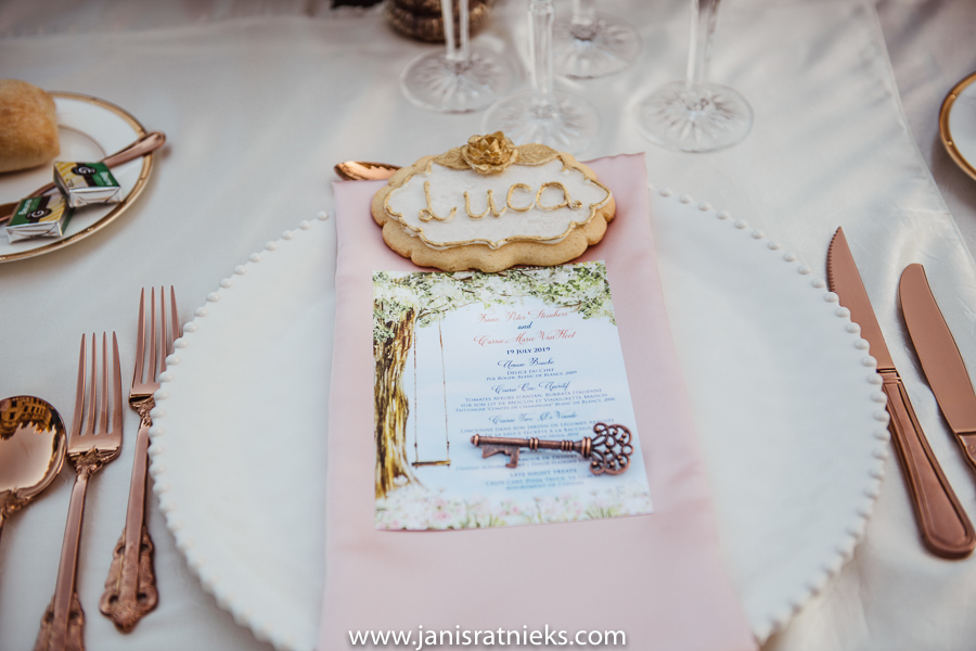 fairy tail wedding menu