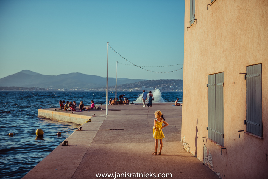 kid in st tropez
