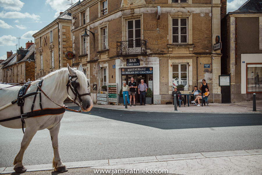 wedding horse and carriage France