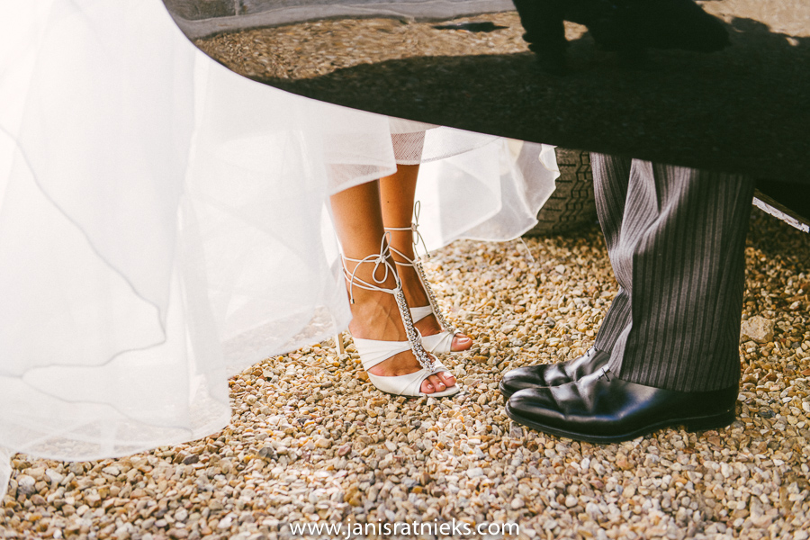 wedding shoes bride and groom