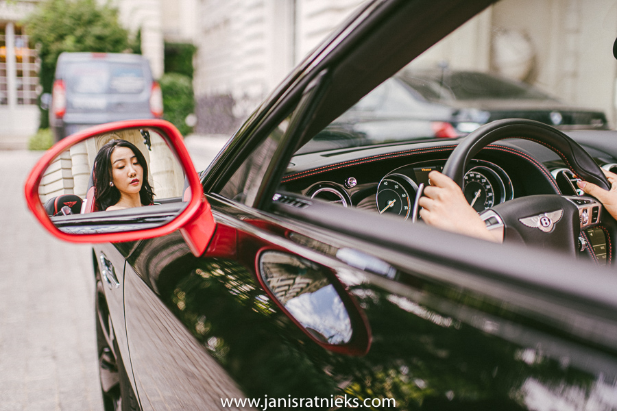 Paris Bentley photo shoot