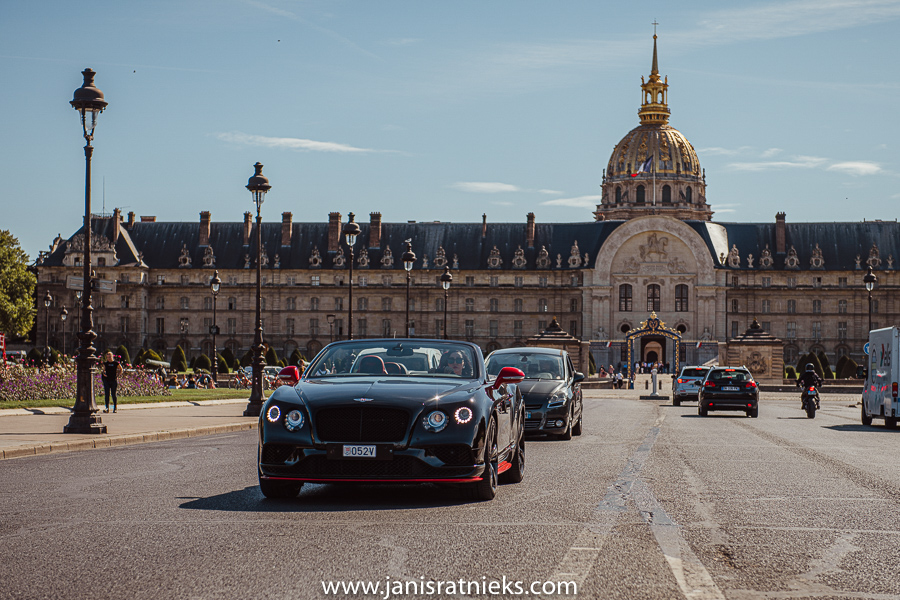 bentley rental in paris