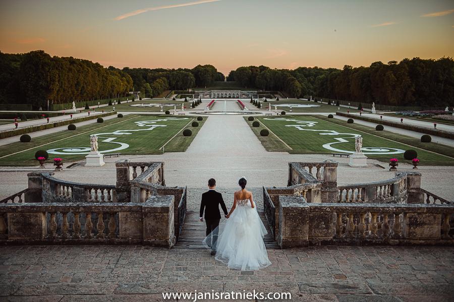 Château de Vaux-le-Vicomte pre wedding