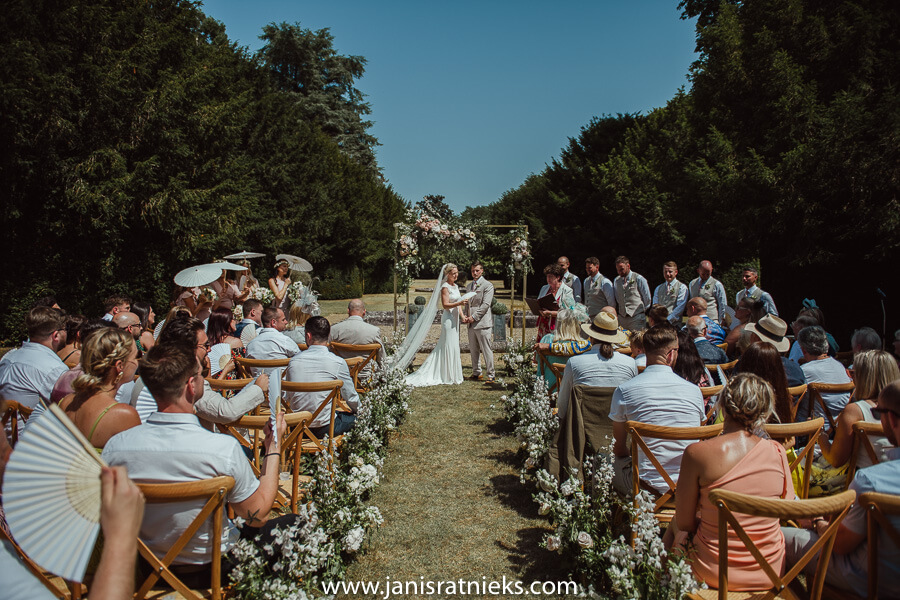 France outdoor ceremony