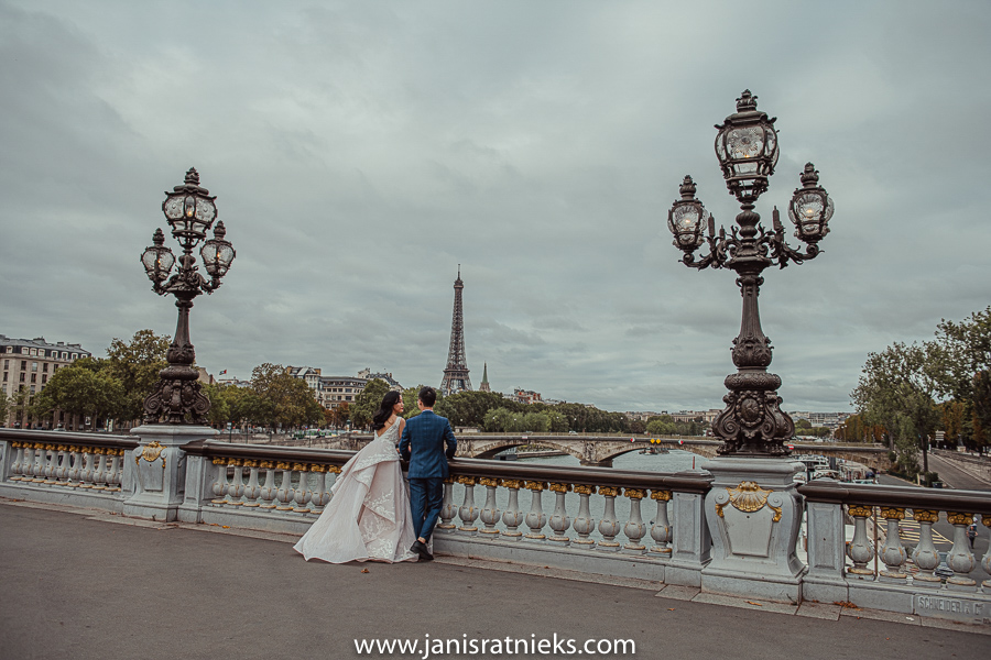 Paris dior pre wedding photos