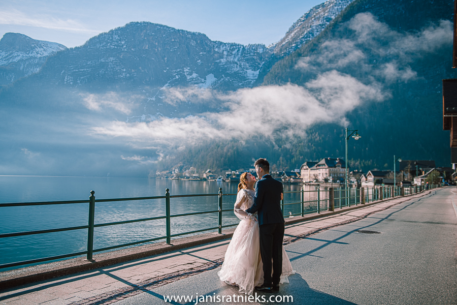 Alps pre-wedding