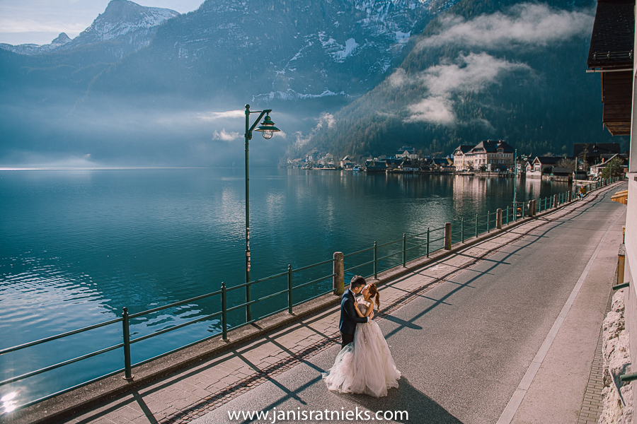 Austrian village pre-wedding