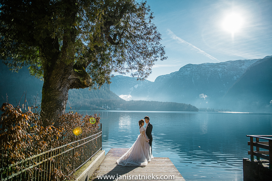 best Hallstatt wedding photo