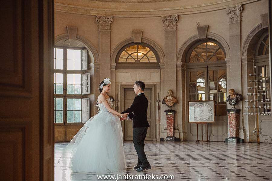 best wedding venue Château de Vaux-le-Vicomte