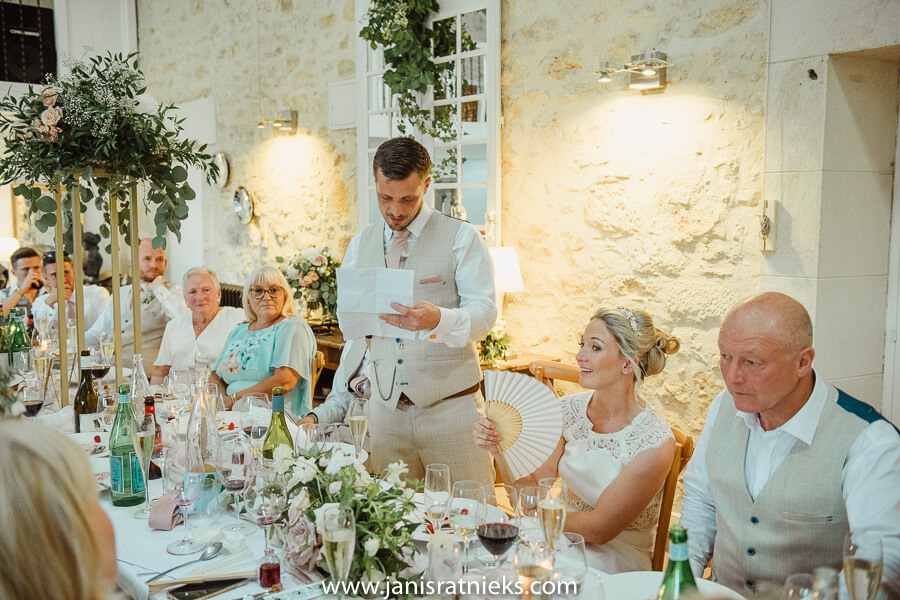 chateau couronne wedding reception
