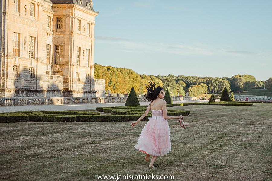 chateau de vaux le Vicomte pre wedding