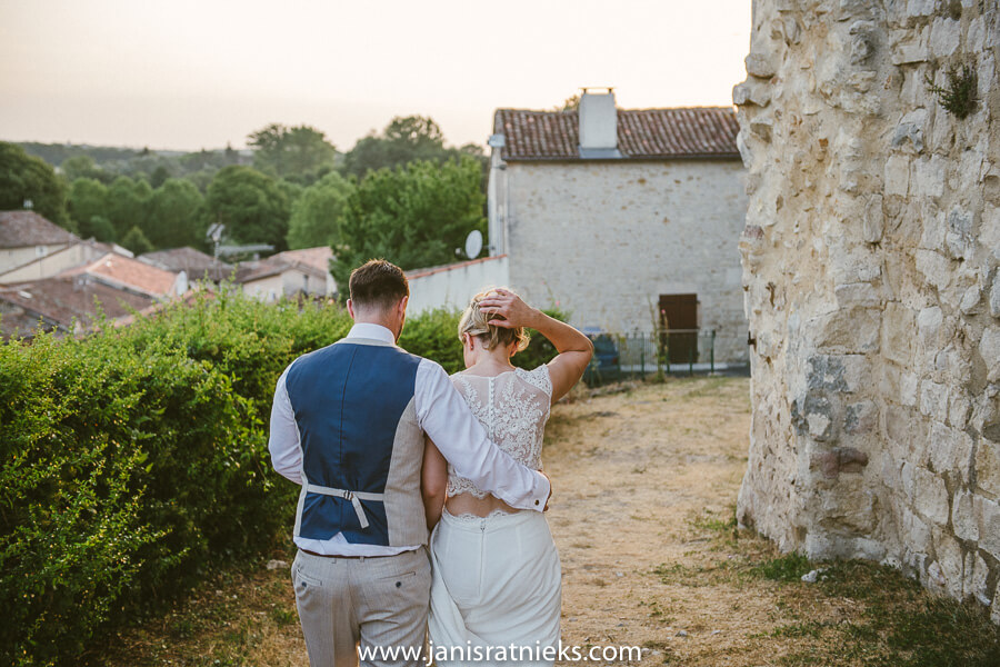 french style wedding charente