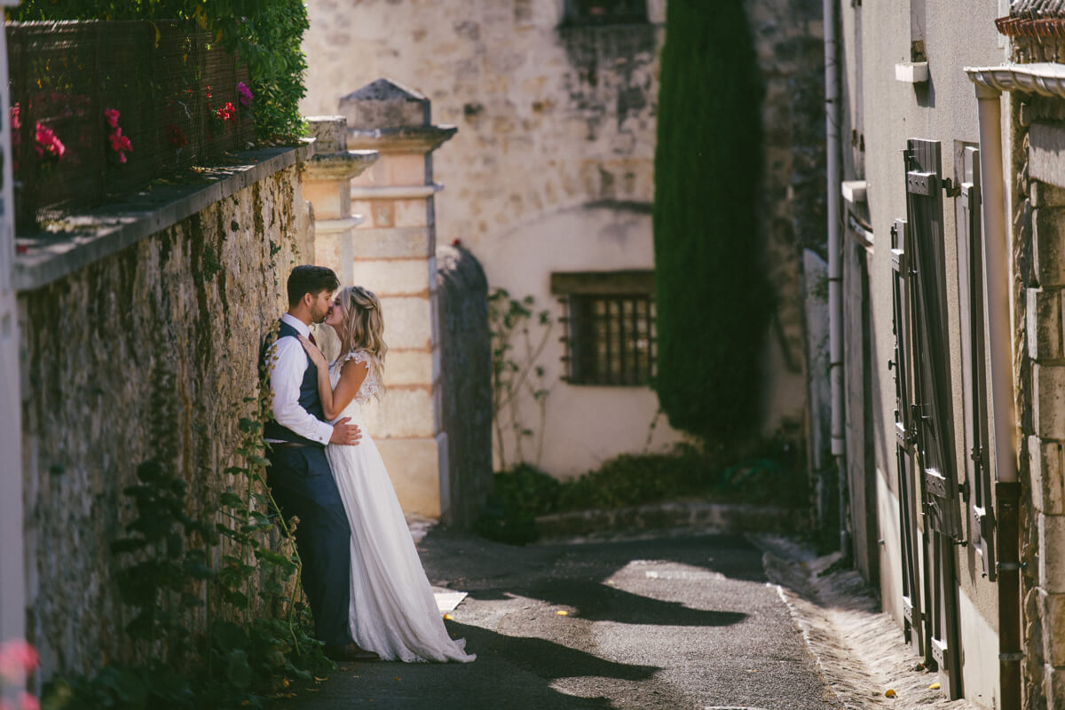 French village wedding