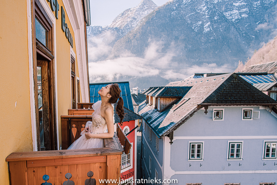 Hallstatt hotel wedding