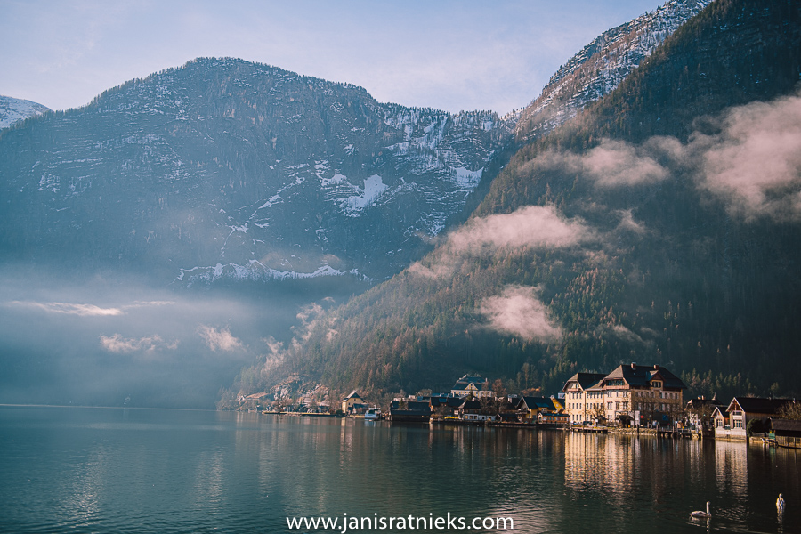 Hallstatt morning light