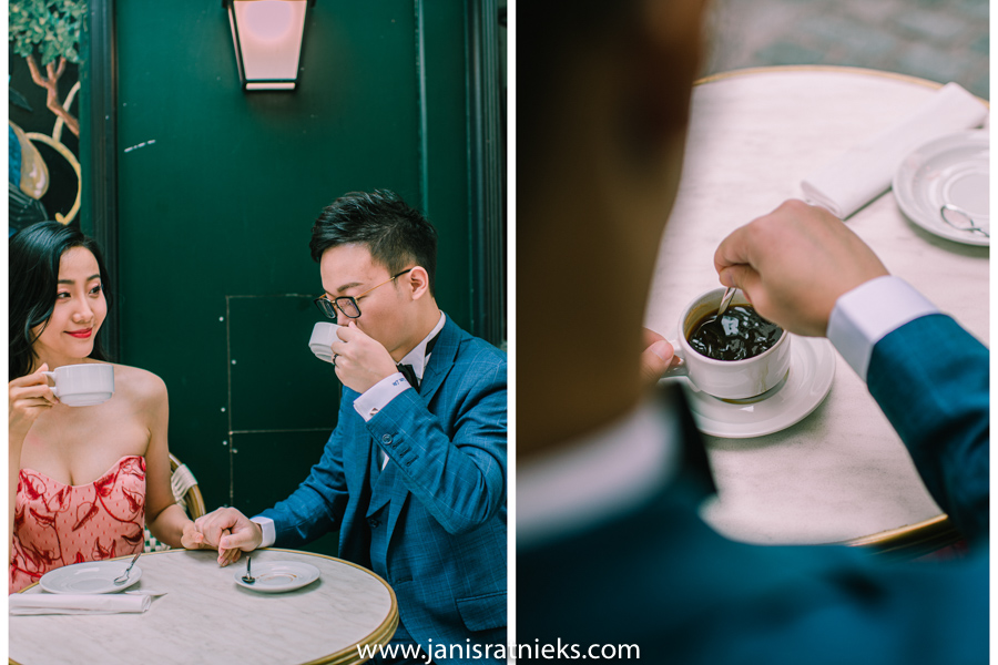 korean style paris pre wedding