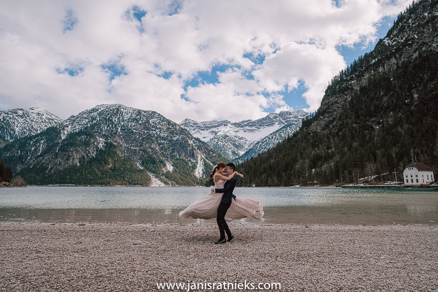 Plansee wedding elopement Germany