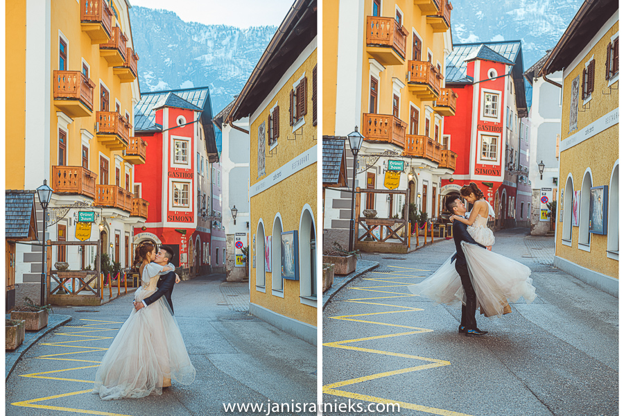 pre-wedding Austria photographer