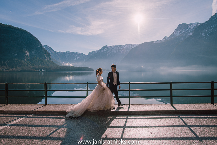 pre-wedding photographer Austria