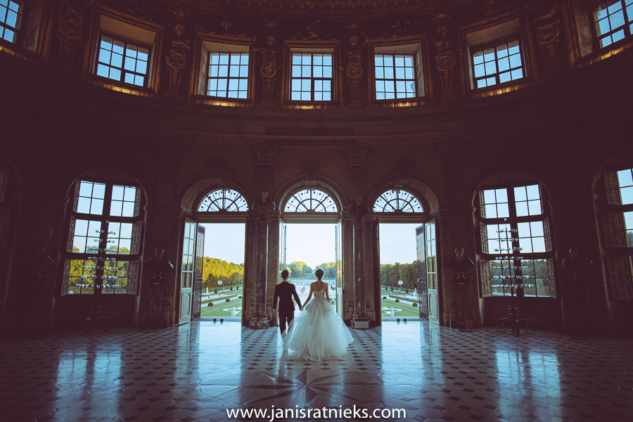 wedding photographer Château de Vaux-le-Vicomte