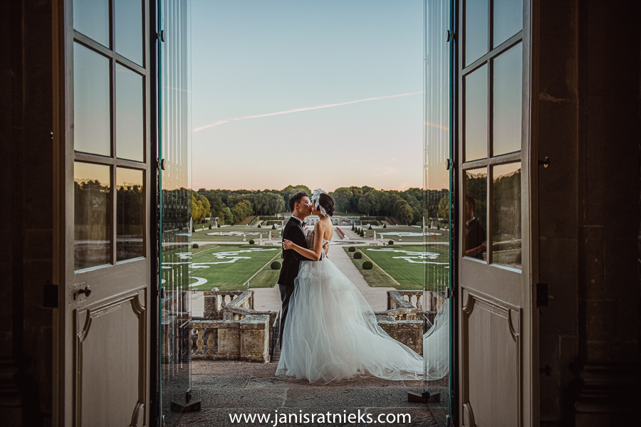 wedding ideas Château de Vaux-le-Vicomte