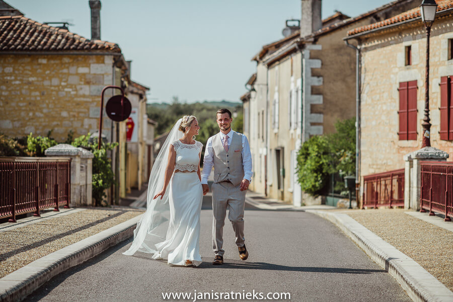 wedding photographer in Charente