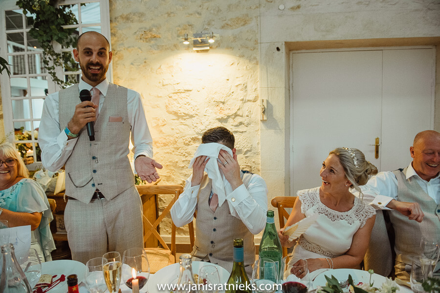 wedding speech charente